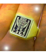 HAUNTED MEN'S RING SACRED GODS OF ATTRACTION MAGICK OFFER ONLY MAGICK 7 ... - $91,007.77