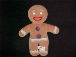"""11"""" Shrek Gingy Gingerbread Man Plush Toy From 2004 Universal Studios - $59.39"""