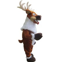 Christmas Reindeer Mascot Costume Adult Christmas Costume For Sale - $375.00