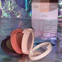 NEW IN BOX Kaja Beauty Bento Bouncy Shimmer Eyeshadow Trio Orange Blossom