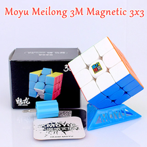Moyu Meilong3 M Magnetic 3x3 Speed Magic Cube Professional Twist Puzzle Toys - $13.82