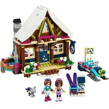 LEGO Friends Snow Resort Chalet 41323 Building Kit 402 Piece - $45.42