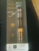 Parker Quink Gel Black Ink Medium Refills - $18.50