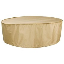 HENTEX Outdoor Round Hot Tub Cover, Round Patio Furniture Cover Table an... - $35.14