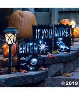 Vintage Halloween Metal Luminaries - $23.24