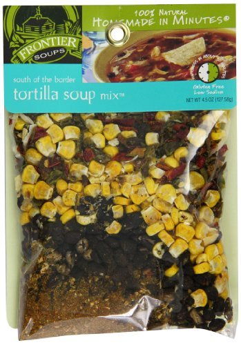 Primary image for Frontier Soups Homemade In Minutes South Of The Border Tortilla Soup, 4.5-Ounce