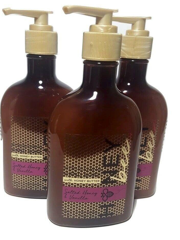 Bath and Body Works Salted Honey Vanilla Nourishing Hand Soap Honey Butter