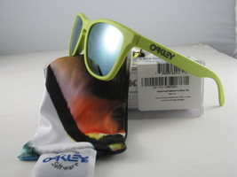 Oakley FROGSKINS Limited Edition Aspen Green w/Emerald Iridium 24-341 - $105.84