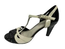Franco Sarto Micro Donna Tacco Scarpe Fibbia Alla Caviglia Taglia 6.5M - $18.59