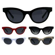 Womens Retro Vintage Round Horn Rim Plastic Boyfriend Sunglasses - $13.12 CAD