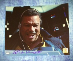 Billy Dee Williams Hand Signed 8x10 Photo COA Star Wars Rise Of Skywalker - $175.00