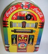 Coca Cola JukeBox Tin Box - $28.04