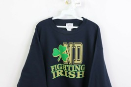 Vtg 90s Champion Mens XL Notre Dame Fighting Irish Spell Out Crewneck Sw... - $39.55