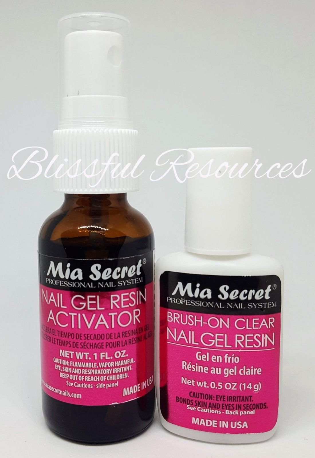 Mia Secret Nail Gel Resin &/Or Activator @ and similar items