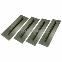 Pack of 4 Trowel Blade, Finish Blade, 6in  x 18in  Stens #750-043 - $82.82