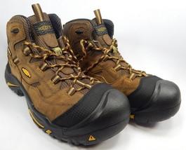 Keen Braddock Mid Top Sz 11.5 M EU 45  Men's Slip Resistant Steel Toe Work Boots