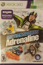 MOTIONSPORTS ANRENALINE XBOX 360 GAME  REQUIRES KINECT SENSOR - $7.89