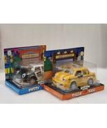 VINTAGE CHEVRON CARS TYLER TAXI 1997 & PATTY PATROL 1997 COLLECTIBLE CAR... - $39.59