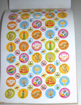 Judaica Scrapbook Hanukkah Creation 270 Stickers Booklet Children Teaching Aid image 4