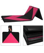"4' x10' x 2"" Gymnastics Gym Folding Exercise Mat Yoga Panel Fitness Exer... - $89.99"