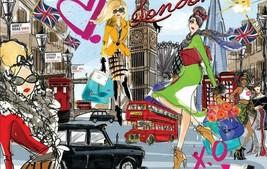 Ooh La La Take Me to London Fashion Pop Art Jigsaw Puzzle 1000 pc NIB Pedri - $27.67