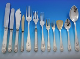 Deco by H Meyer & Co German 800 Silver Flatware Set Dinner Service 163 Pieces - $9,795.00