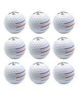 Ainimage09 pcs golf balls 3 color line super long distance soft feel 3 piece ball soft thumbtall