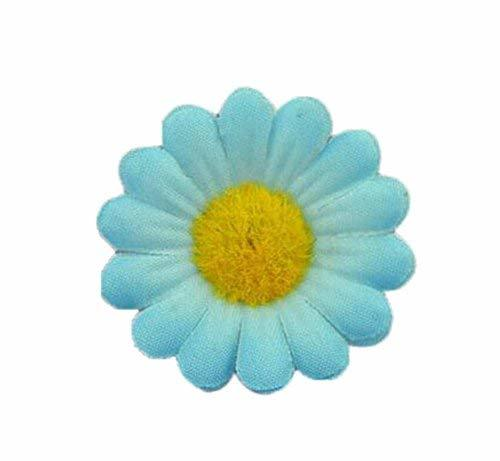 4 Pieces Of Cute Handmade Jewelry Adjustable Light Blue Sunflower Ring