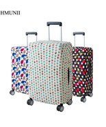 HMUNII® Fashion Colorful Luggage Protective Cover For 18 To 30 Inch Trolley - $13.44+