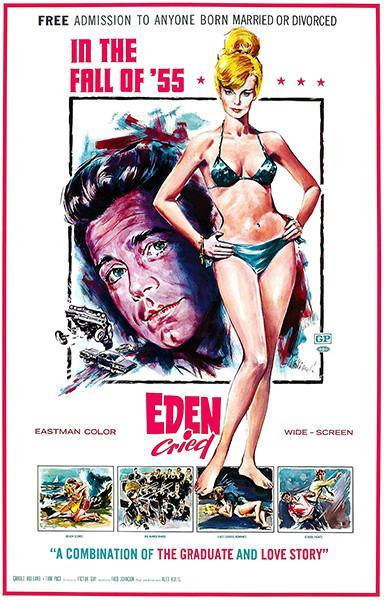 Primary image for Eden Cried - 1967 - Movie Poster