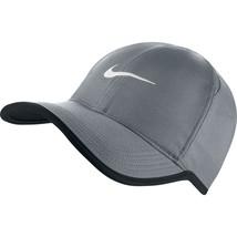 NEW! NIKE Youth Featherlight Hat-Grey/Black/White - $42.21