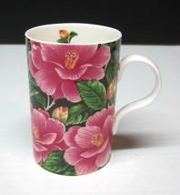 "Latin Flowers By Alan Dean Wren Coffee Mug Cup 4""  Great Shape Pink & Bl... - $29.69"