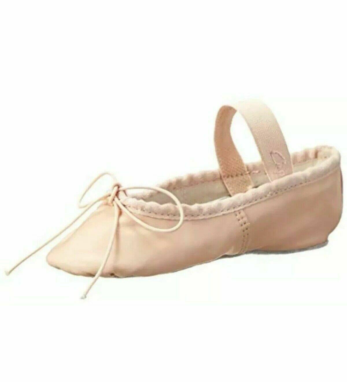 Capezio Adult Teknik 200 NPK Pink Full Sole Ballet Shoe Size 10C 10 C