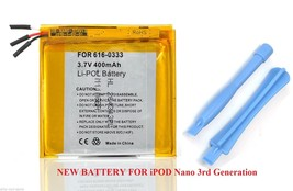 Replacement internal battery for ipod Nano 3 3rd gen 3G Generation A1236... - $19.35