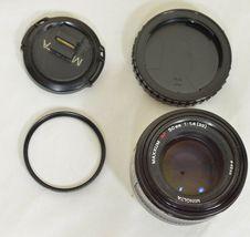 Minolta AF 50mm f/1.4 AF RS camera lens Sony Alpha A-mount image 6