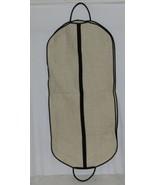 Mainstreet Collection LGBB0681 Linen Garment Bag Black Accents - $54.00