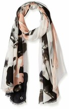 Calvin Klein Women's Abstract Viscose Scarf (Blush, One Size) - €30,26 EUR
