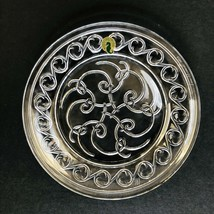 Waterford Society Tony Hearne Signed Celtic Spiral Knot 8in Dessert Plate 2002 - $56.93