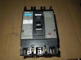 Fuji Electric BU-ESB3060 60A 3p 600VAC Circuit Breaker Used - $50.00