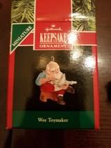 Hallmark Keepsake Ornament Wee Toymaker upc 70000027680 - $29.28