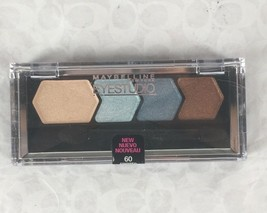 NEW Maybelline Eye Studio Color Plush Silk Eyeshadow Quad in Spirited Se... - $6.39