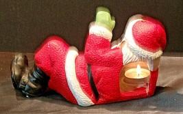 Santa Candle Holder AA20-2123 Vintage image 2