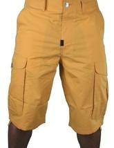 LRG MENS Young Bright Youth Ill Denim Kids Mustard Cargo Walk Shorts 34 38 42NWT