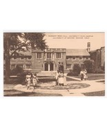 Reed Hall Students University Denver Colorado postcard - $6.44