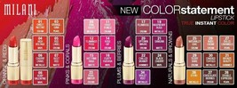 Buy 1 Get 1 At 20% Off (Add 2 To Cart) Milani Color Statement Lipstick (Choose) - $5.43+