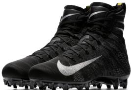 Nike Vapor Untouchable 3 Elite Football Cleat Flyknit Black AO3006-010 S... - $89.09