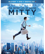 The Secret Life of Walter Mitty (Blu-ray/DVD, 2014, 2-Disc Set, Includes... - $4.99