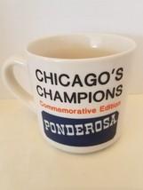 Ponderosa Chicago Bears Commemorative Edition Ceramic Coffee Mug - $6.92