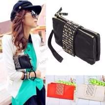 Fashion Lady Rivet Wallet Clutch Bag - $229,47 MXN