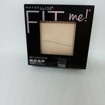 Maybelline Medium Buff Fit Me! Powder 225 Set + Smooth Free Shipping - $7.03